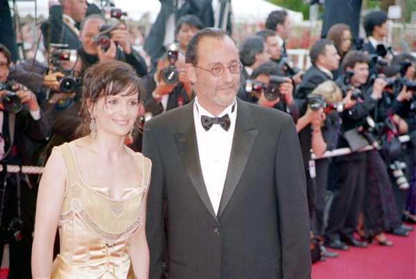 Juliette Binoche & Jean Reno at the Cannes Film Festival, 5/2002, by Thierry Carpico