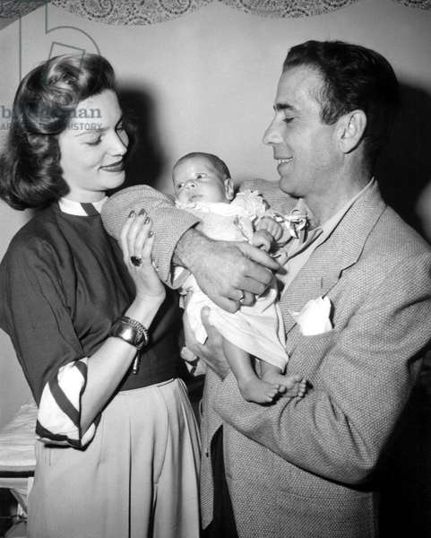 LAUREN BACALL, STEPHEN HUMPHREY BOGART, and HUMPHREY BOGART, 1949