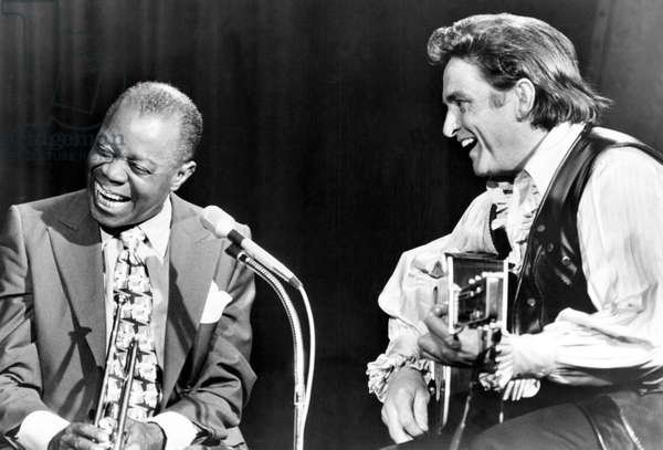 THE JOHNNY CASH SHOW, Louis Armstrong, Johnny Cash, 1969-1971, 1970 episode