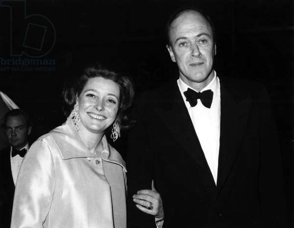 Roald Dahl et Patricia Neal