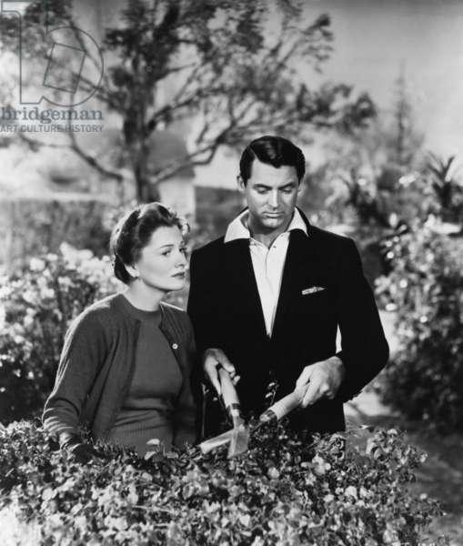 SUSPICION, Joan Fontaine, Cary Grant, 1941