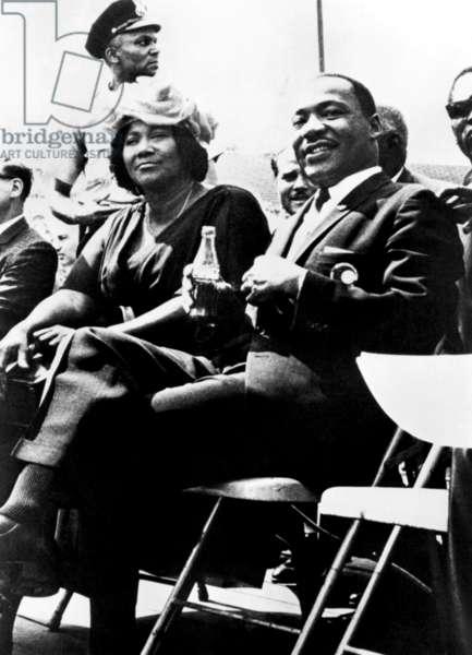 Mahalia Jackson, Martin Luther King, ca. 1960s