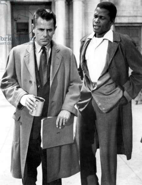 Graine de Violence: THE BLACKBOARD JUNGLE, Glenn Ford, Sidney Poitier, 1955