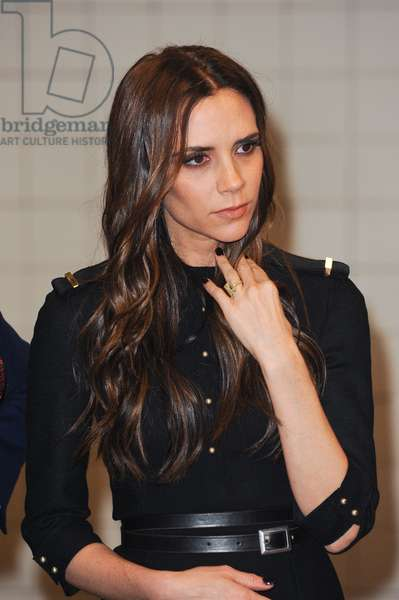 Victoria Beckham at Photo Call for Launch of Britain's GREAT Campaign, Grand Central Station Shuttle Station, New York, NY February 15, 2012. Photo By: Ray Tamarra/Everett Collection