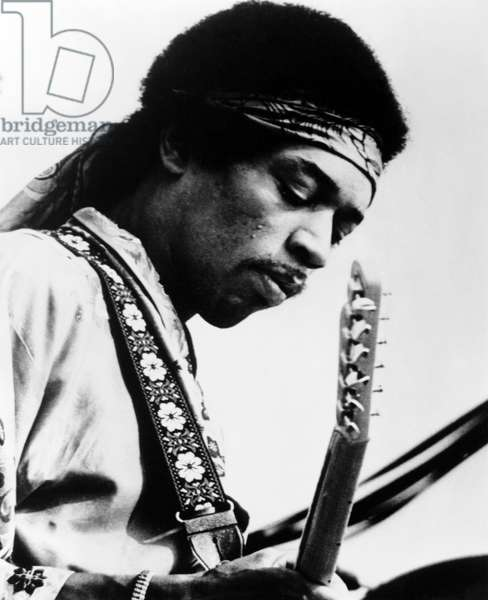 Jimi Hendrix, late 1960s early 1970s