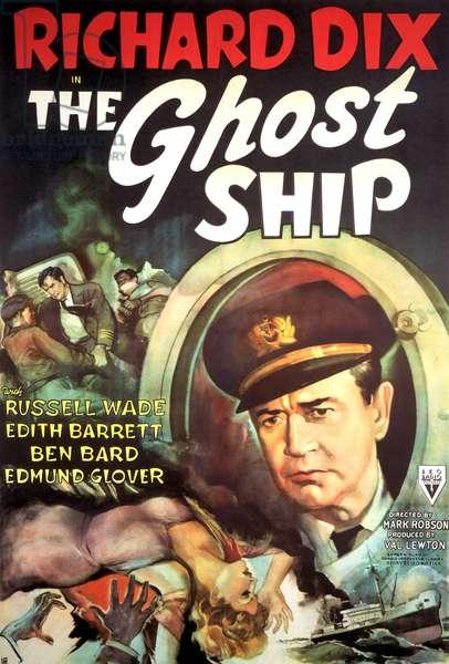 La vaisseau fantome: THE GHOST SHIP, Richard Dix, 1943