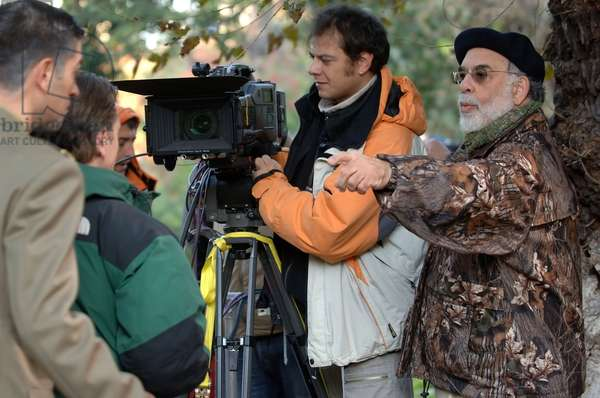 YOUTH WITHOUT YOUTH, director Francis Ford Coppola (right), on set, 2007. ©Sony Pictures Classics/courtesy Everett Collection