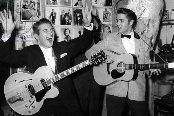 Liberace et Elvis Presley