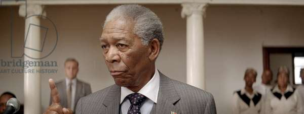 Invictus: INVICTUS, from left: Morgan Freeman (as Nelson Mandela), 2009. ©Warner Bros./courtesy Everett Collection