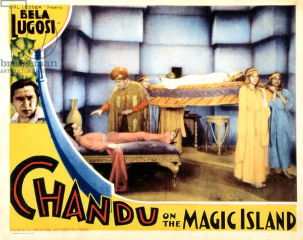 CHANDU ON THE MAGIC ISLAND, Bela Lugosi, 1935