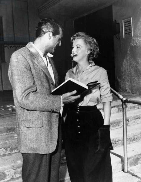 Cary Grant, Marilyn Monroe