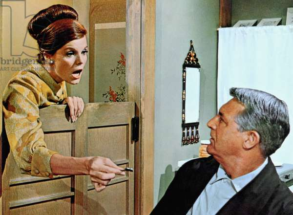 WALK, DON'T RUN, Samantha Eggar, Cary Grant, 1966
