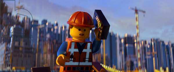 THE LEGO MOVIE, Emmet (voice: Chris Pratt), 2014, ©Warner Bros. Pictures/courtesy Everett Collection