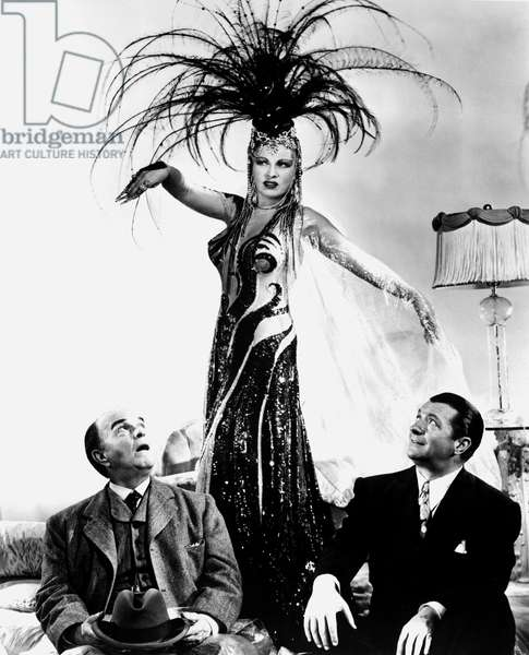 THE HEAT'S ON TROPICANA: THE HEAT'S ON, Victor Moore, Mae West, William Gaxton, 1943