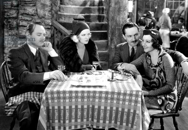 HONOR AMONG LOVERS: HONOR AMONG LOVERS, Charles Ruggles, Avonne Taylor, Frederic March, Claudette Colbert, 1931