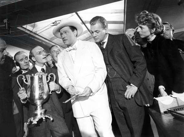 CITIZEN KANE, Everett Sloane, Orson Welles, Joseph Cotten, 1941