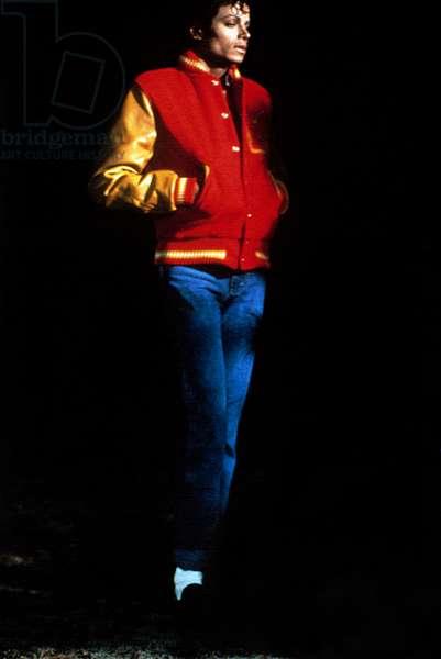 THRILLER (aka MAKING OF MICHAEL JACKSON'S THRILLER), Michael Jackson, 1983, © MCA/Universal / Courtesy: Everett Collection