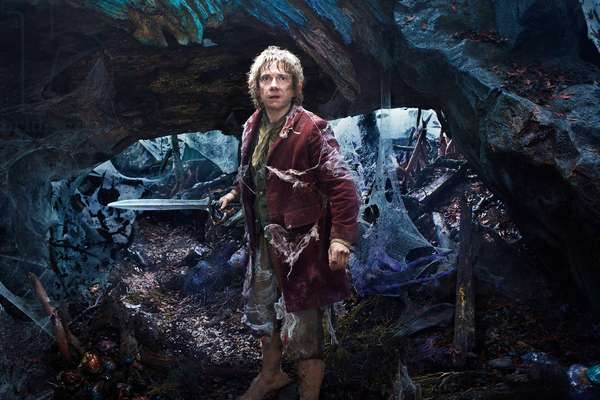 Le Hobbit: Le Voyage Inattendu: THE HOBBIT: AN UNEXPECTED JOURNEY, Martin Freeman, 2012, ph: Mark Pokorny/©Warner Bros. Pictures/courtesy Everett Collection