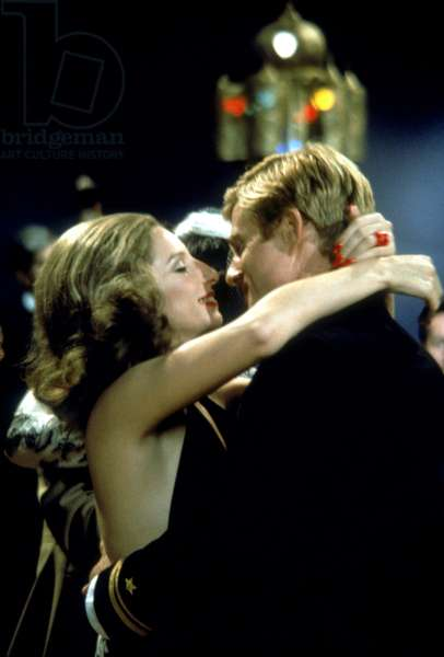 THE WAY WE WERE, Barbra Streisand, Robert Redford, 1973
