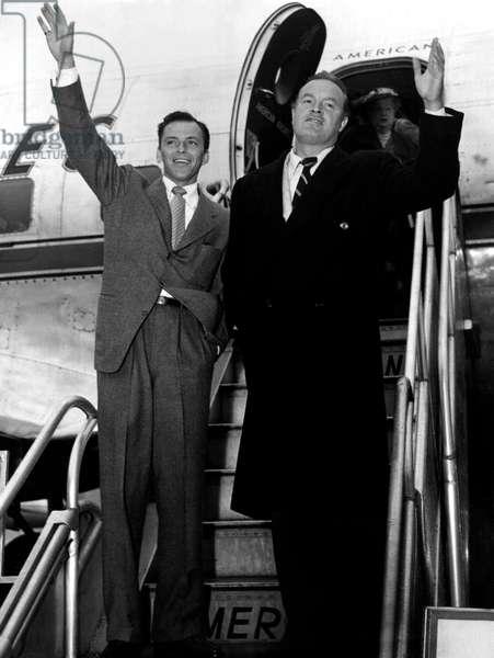 Frank Sinatra et Bob Hope
