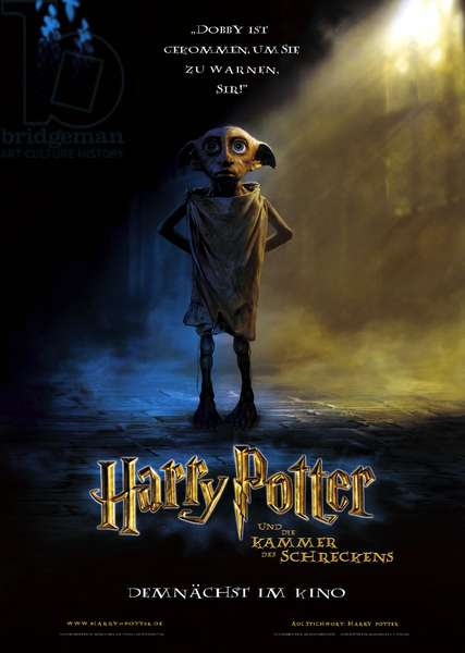 HARRY POTTER AND THE CHAMBER OF SECRETS, Dobby the House Elf, 2002, (c) Warner Brothers/courtesy Everett Collection