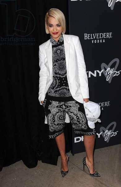 Rita Ora: Rita Ora at arrivals for DKNY's 25th Birthday Bash, 23 Wall Street, New York, NY September 9, 2013. Photo By: Kristin Callahan/Everett Collection