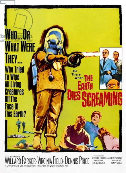 THE EARTH DIES SCREAMING: THE EARTH DIES SCREAMING, 1964. TM and Copyright © 20th Century Fox Film Corp. All rights reserved, Courtesy: Everett Collection