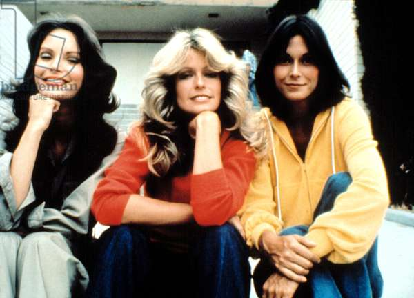 CHARLIE'S ANGELS, Jaclyn Smith, Farrah Fawcett, Kate Jackson, 1976-81
