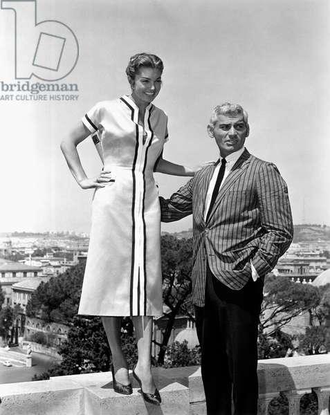 RAW WIND IN EDEN, Esther Williams, Jeff Chandler, 1958
