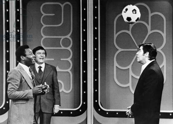 THE MIKE DOUGLAS SHOW, Pele, Mike Douglas, Jerry Lewis, (aired December 29, 1978), 1961-82
