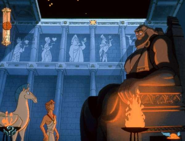 HERCULES, Pegasus, Hercules, Zeus, 1997, (c)Buena Vista Pictures/courtesy Everett Collection