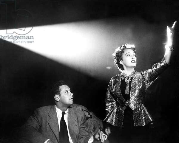 SUNSET BOULEVARD, William Holden, Gloria Swanson, 1950
