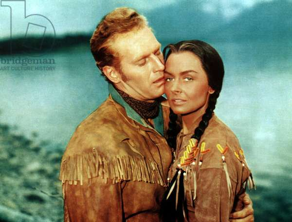 THE FAR HORIZONS, Charlton Heston, Donna Reed, 1955