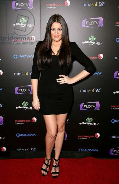 Khloe Kardashian at arrivals for SWAGG VIP Kid Rock Concert at the Joint, Hard Rock Hotel and Casino, Las Vegas, NV January 7, 2010. Photo By: MORA/Everett Collection