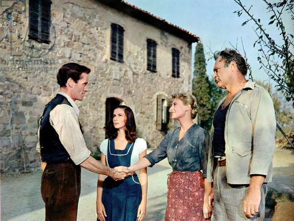 Les vendanges: THE VINTAGE, Mel Ferrer, Pier Angeli, Michele Morgan, Leif Erickson, 1957