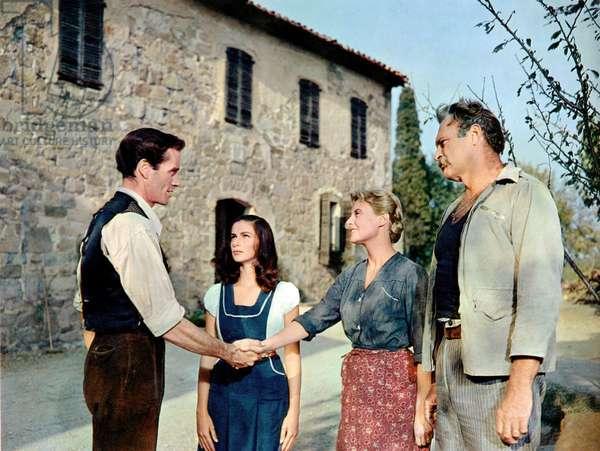 Les vendanges: THE VINTAGE, Mel Ferrer, Pier Angeli, Michele Morgan, Leif Erickson, 1957