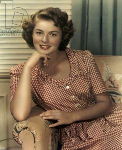 Ingrid Bergman in the 1940s