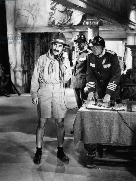 La Soupe au Canard: DUCK SOUP, Groucho Marx (with telephone), 1933