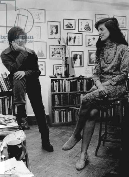 David Rieff, Susan Sontag, 1967