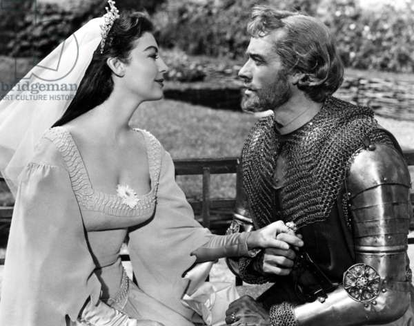 Les chevaliers de la table ronde: KNIGHTS OF THE ROUND TABLE, Ava Gardner, Mel Ferrer, 1953.