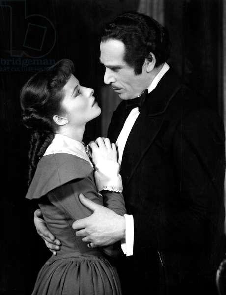 Jane Eyre: JANE EYRE, Katharine Hepburn, Dennis Hoey, c. 1937