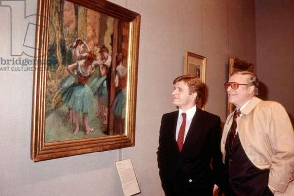 THAT'S DANCING!, Mikhail Baryshnikov, Gene Kelly, 1985. ©MGM/courtesy Everett Collection