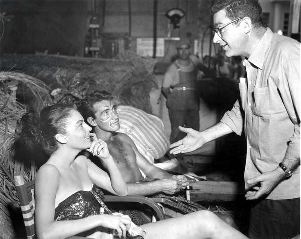 THE LITTLE HUT, Mark Robson (Director), Ava Gardner, Walter Chiari, 1957