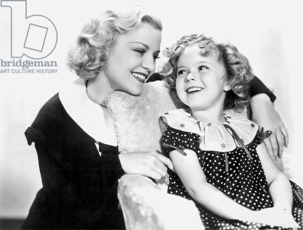 La P'tite Shirley: BABY TAKE A BOW, Claire Trevor, Shirley Temple, 1934, TM and Copyright (c)20th Century Fox Film Corp. All rights reserved.