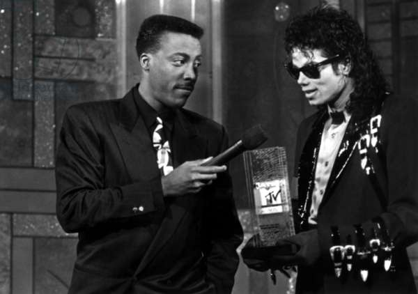 Arsenio Hall, Michael Jackson
