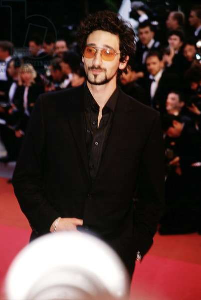 Adrien Brody at Cannes Film Festival, 2000, by Thierry Carpico