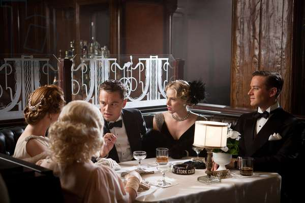 J.Edgar: J. EDGAR, from left in tuxedos: Leonardo DiCaprio as J. Edgar Hoover, Armie Hammer as Clyde Tolson, 2011. ph: Keith Bernstein/©Warner Bros./courtesy Everett Collection