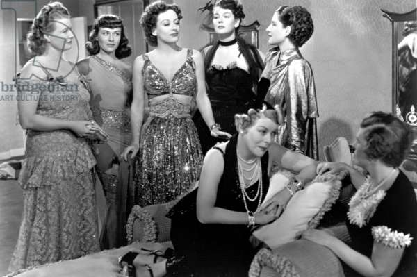 THE WOMEN, Phyllis Povah, Paulette Goddard, Joan Crawford, Rosalind Russell, Mary Boland, Norma Shearer, 1939