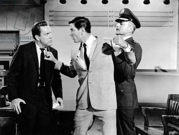 Un Pilote dans la Lune: MOON PILOT, Edmond O'Brien, Tom Tryon, Brian Keith, 1962.(c) Walt Disney/ Courtesy: Everett Collection.