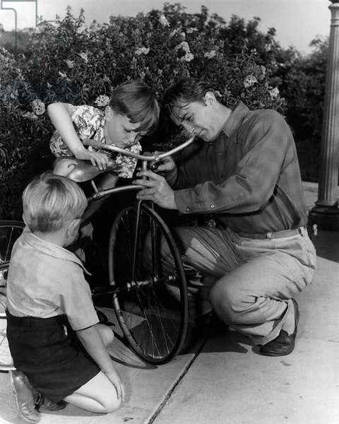 Chris Mitchum, Jim Mitchum, Robert Mitchum